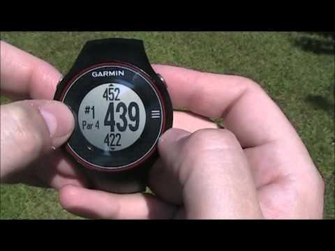 garmin approach s1 gps golf watch instructions