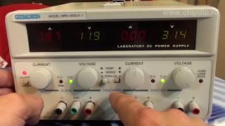 MPS 3005LK 3, Джерело живлення