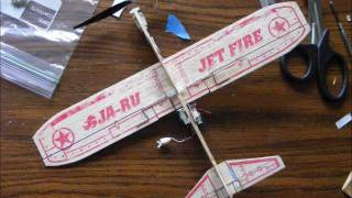 Ja-ru Jetfire Balsa Wood Chuck Glider Rc Conversion (dsm2 Brick)
