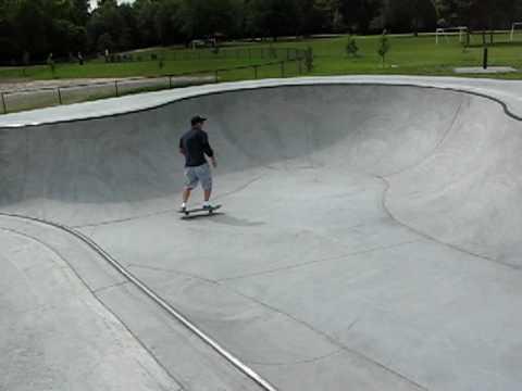 Possum Creek Skatepark Gainesville,Fl 6-5-10