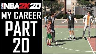 "NBA 2K20 - My Career - Let's Play - Part 20 - ""Nike Kids Basketball Camp"" | DanQ8000"