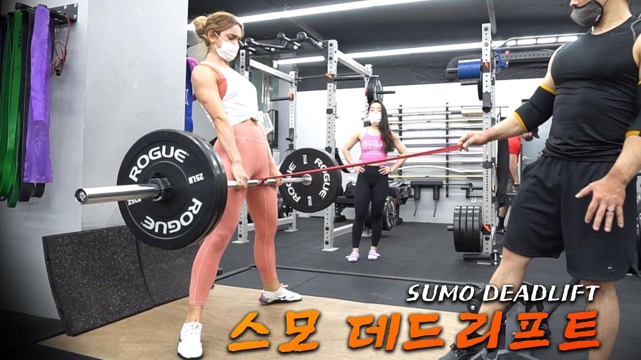 러시아 모델 티나의 스트렝스는 상위 몇% ?!! | 트레인트루 파워리프팅 도전기!