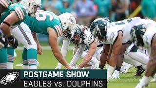 Philadelphia Eagles vs. Miami Dolphins Postgame Show   2019 Week 13