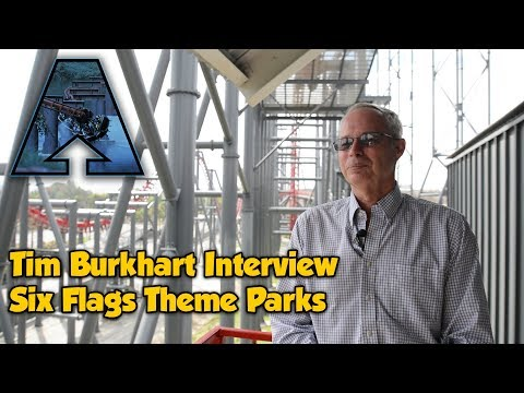 Tim Burkhart Interview: Six Flags Theme Parks [Arrow Bonus Content]