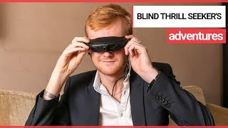 Thrill-seeking Blind Man Receives Life-Changing Glasses! |  SWNS TV