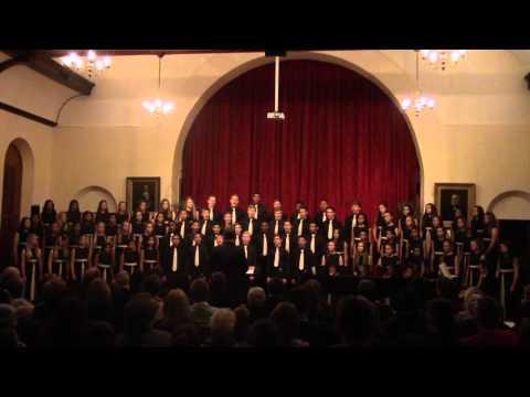 Kersliedjie - Huguenot High School Choir - Goodnow Concert 2015