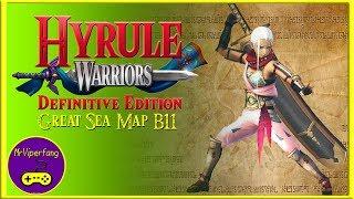 Hyrule Warriors (Switch): Great Sea Map B11 - Impa
