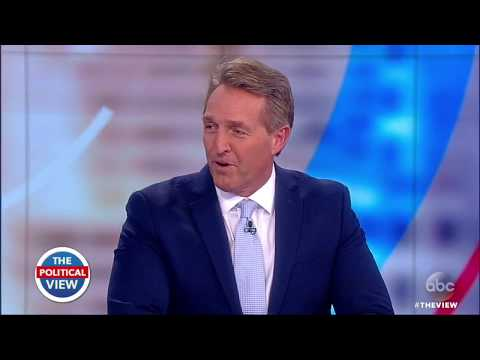 Sen. Jeff Flake On Why He Won't Seek Re-Election, Texas Shooting & Gun Control | The View