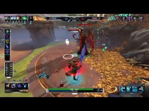 Poseidon Hitting Cap Movement Speed With Wild Build