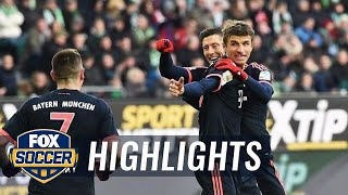 Video Gol Pertandingan Wolfsburg vs FC Bayern Munchen