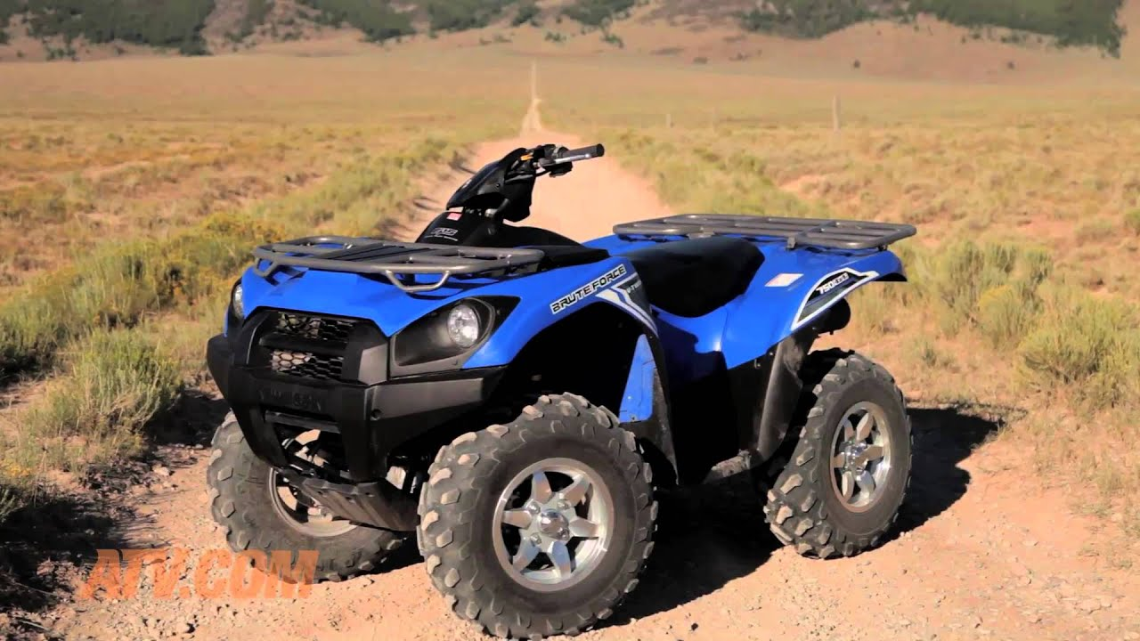 2014 kawasaki brute force 750 eps review - youtube