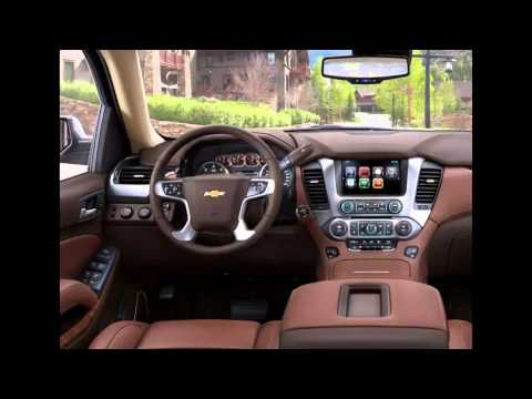 2014 Chevrolet Suburban interior - YouTube