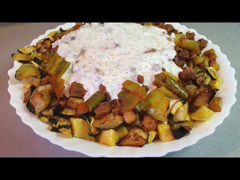 chakchouka-💯-recette-turc-aubergine-avec-sa-sauce-tomateail/-Şakşuka-tarifi