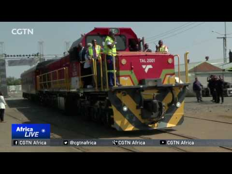South African company develops first locally made locomotive
