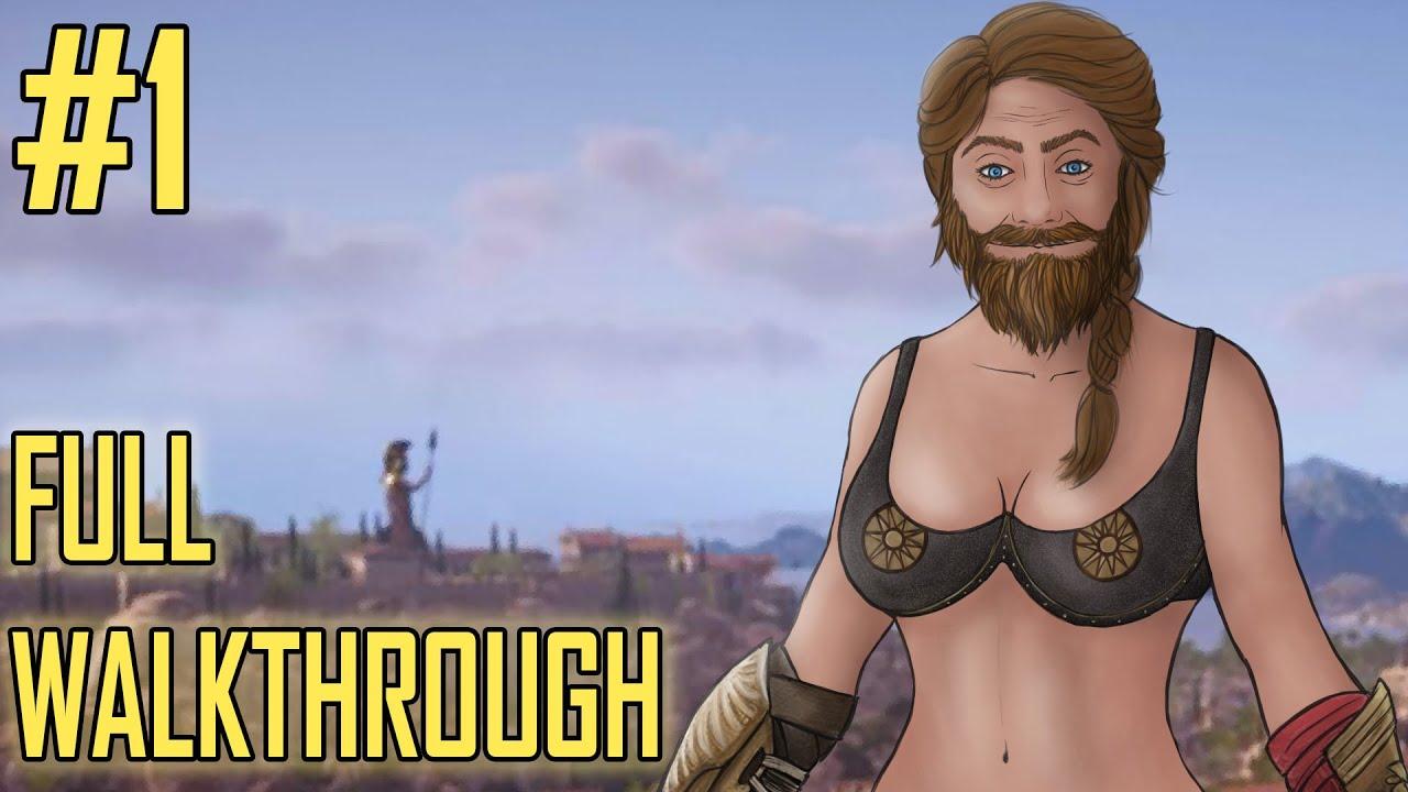 I M Kassandra Assassin S Creed Odyssey Walkthrough Part 1 Ps4 Pro Gameplay Youtube