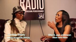 Cynthia Bailey on Black Girls Radio TV w/ Stacii Jae Johnson