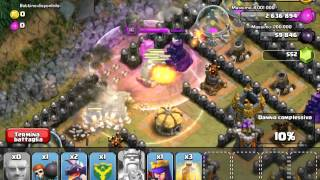 Clash of clans torri sorbetto lv 50 how to do towers sorbet sorbetto's towers