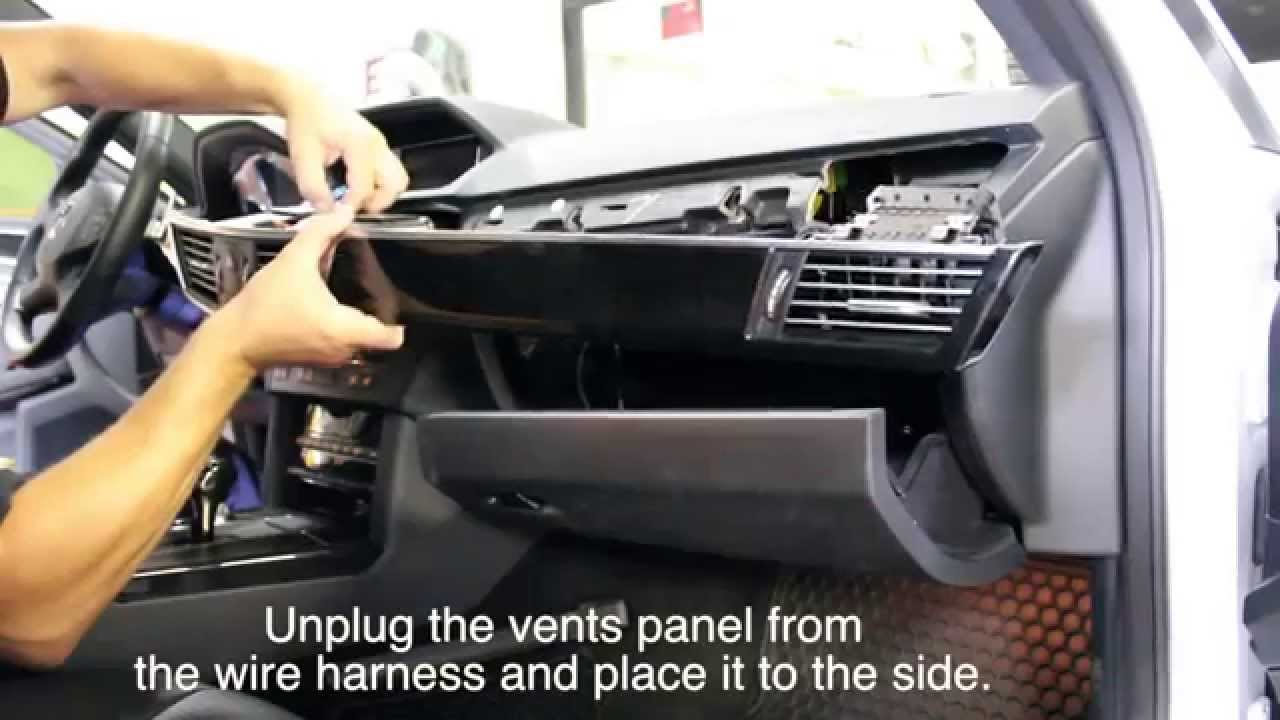 Mercedes Benz E-Class W212 E350 2012 NAVIKS Video in Motion Unit Install