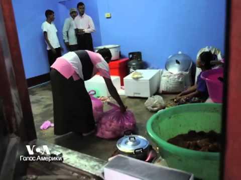 У людей рохинджа