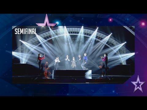 El arte flamenco de Las Turroneras se lleva un pase de oro | Semifinal 3 | Got Talent España 2018