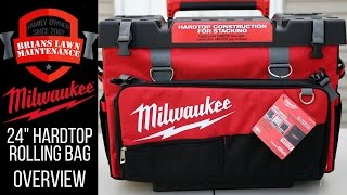 """Milwaukee Tool 24"""" Hardtop Rolling Bag 48-22-8220 Intro/Overview"""