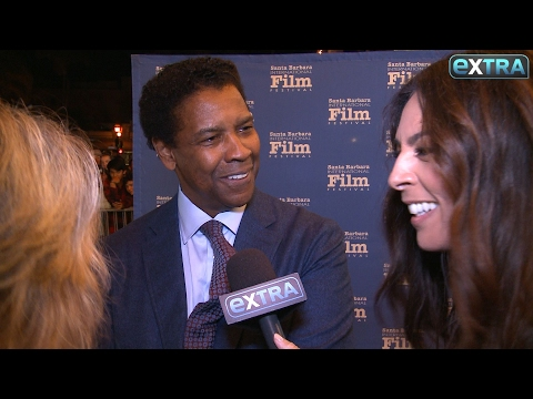Watch This! Fan Crashes Denzel Washington's Interview