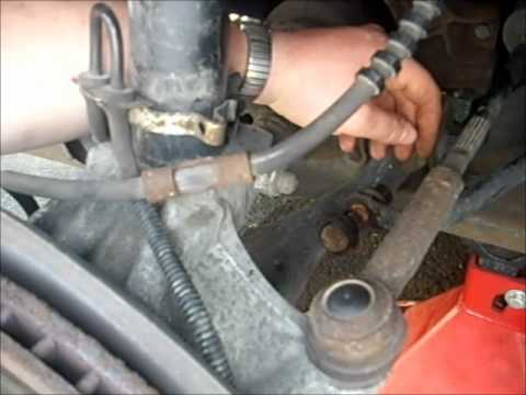 How To Install A Sway Bar Link Youtube