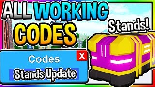 NEW *STANDS UPDATE* CODES in Anime Fighting Simulator UPDATE! (Roblox)
