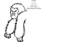 Cómo Dibujar Un Gorila