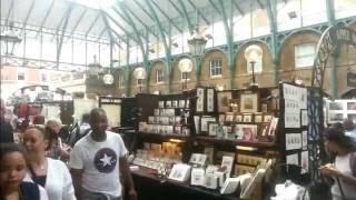 Authentic London Walks | In Covent Garden Market