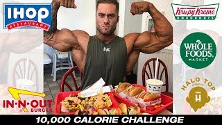 10 000 Calorie Challenge Post Olympia EPIC Cheat Day