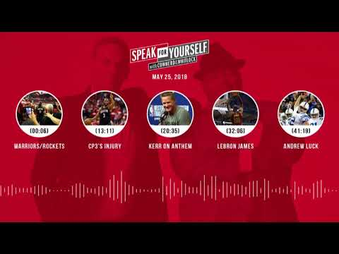SPEAK FOR YOURSELF Audio Podcast (5.25.18) with Colin Cowherd, Jason Whitlock | SPEAK FOR YOURSELF