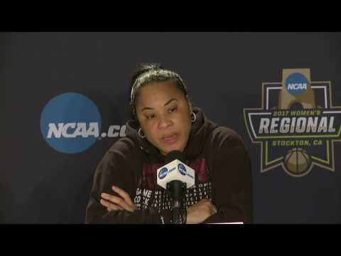 News Conference: South Carolina vs. Quinnipiac Sweet Sixteen Postgame