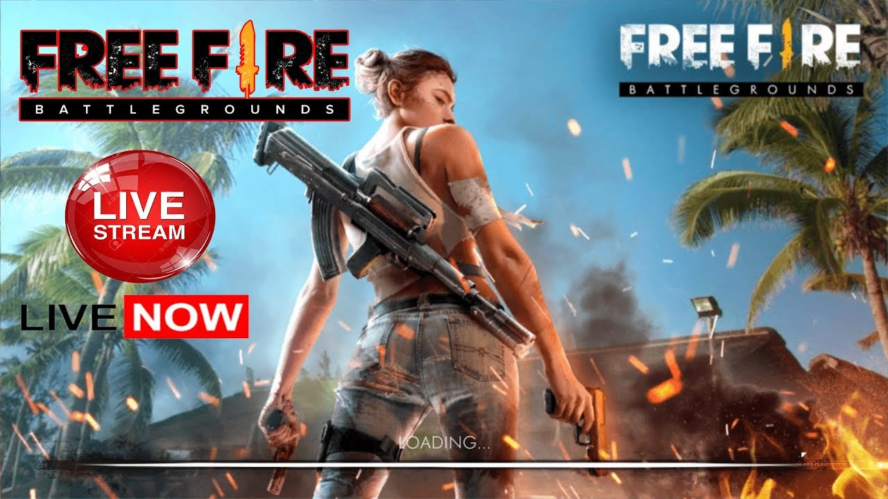 Join my Free Fire live stream, powered by BOOYAH!