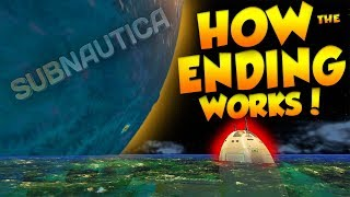 HOW SUBNAUTICA'S ENDING WORKS! - 'BEHIND THE SCENES' CUTSCENE | Subnautica