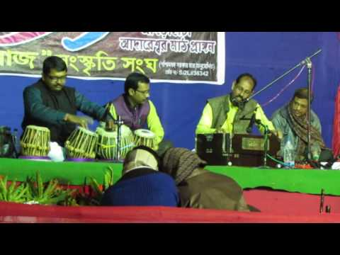 Tanmay Chattopadhyay & Mr Shanti Gopal Bhattacharya stage performance at January 2016