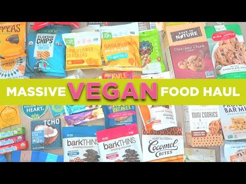 MASSIVE Vegan Haul & Giveaway | Expo West