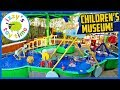 Izzy's Toy Time Learns at McKenna Children's Museum | Fun Family Trip with Indoor Play Place!