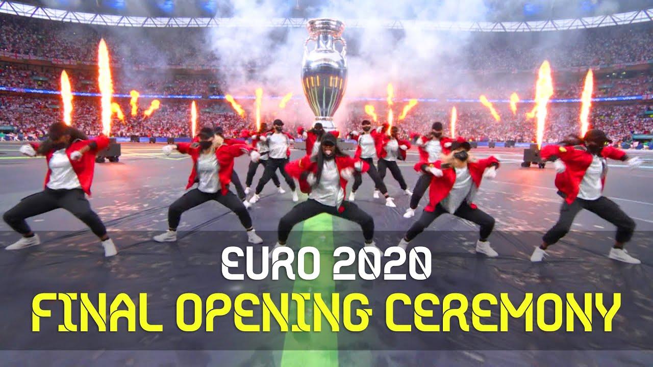 Italy vs England 결승전 오프닝 공연ㅣEURO 2020 Final: Wembley Stadium