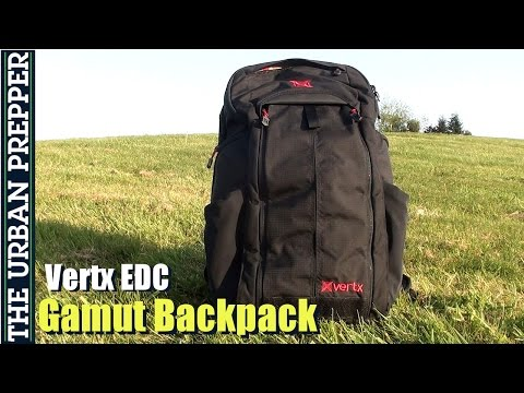 Vertx EDC Gamut Backpack Review by TheUrbanPrepper
