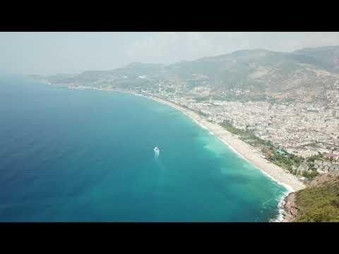 Turkey -Alanya Castle /Drone Video/     07.09.2018