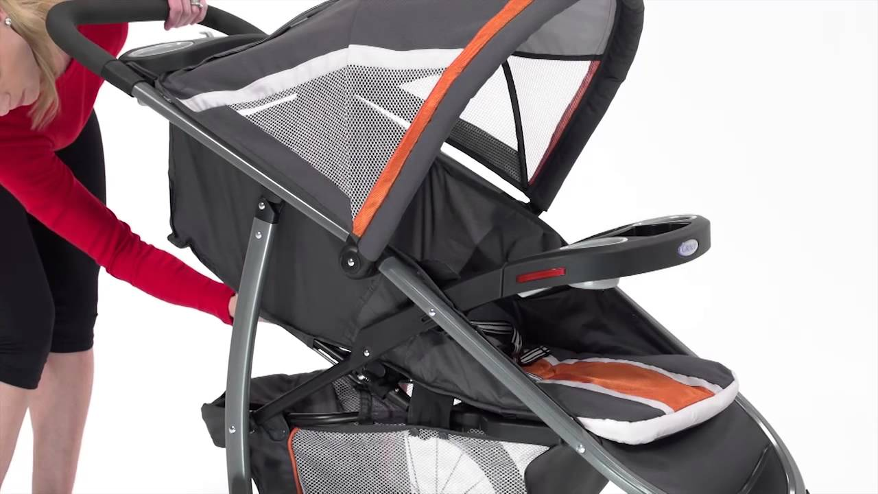 Graco Fastaction Fold Jogger Click Connect Stroller 1852634