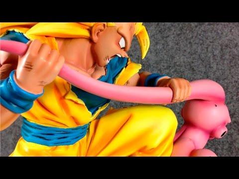 Bonecos Batalha Dragon Ball Goku Vs Kid Buu Luta thumbnail