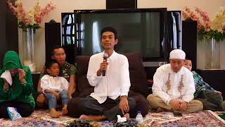Ceramah Ustadz Abdul Somad Lc MA didepan para Artis Senior ( 22 Desember 2017 )