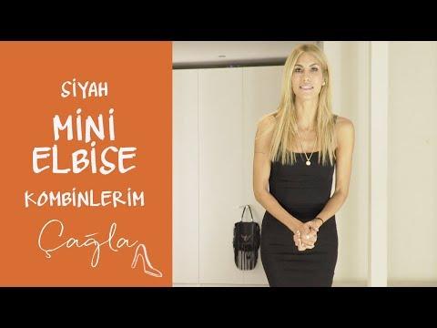 Çağla | Siyah Mini Elbise Kombinlerim  | Moda-Güzellik