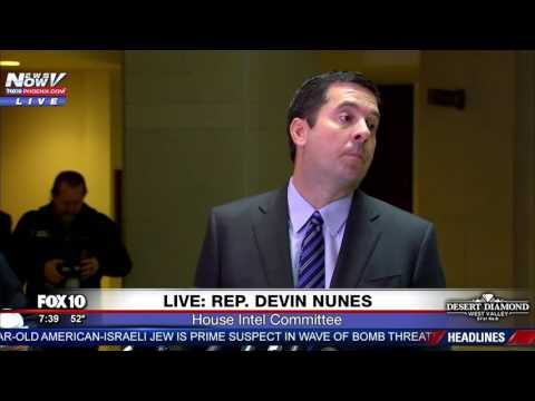 TRUMP SPIES: Who Authorized Spying Donald Trump's Transition Team? Devin Nunes Wants To Know FNN