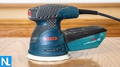 Bosch 2.5 Amp 5 in. Corded Variable Speed Random Orbital Sander/Polisher Kit with Carrying Bag