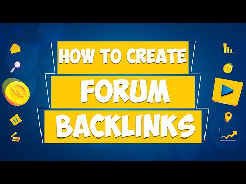 How To Create Forum Backlinks 2020 - Urdu Webinar