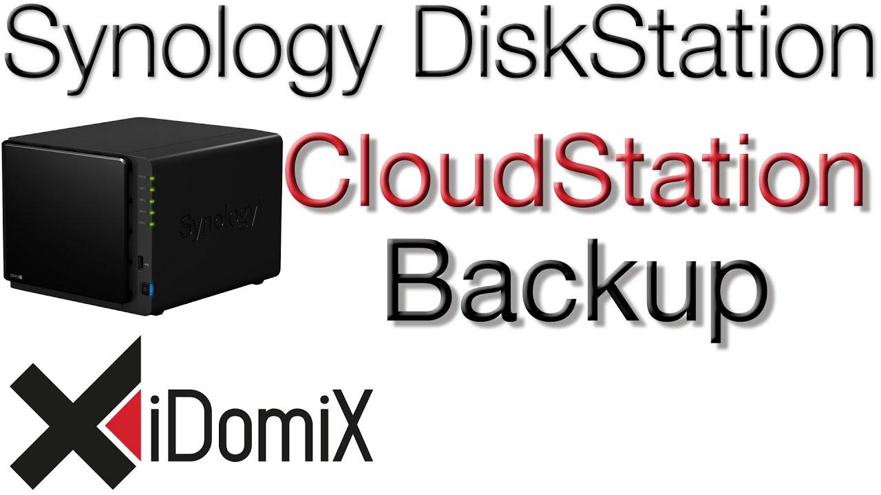 Cloud Station Backup Einrichten