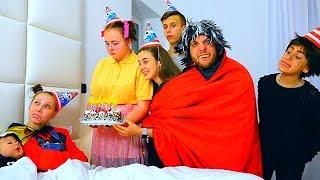 День Рождения СЕСТРЫ - Вампира!!! // Леди Диана